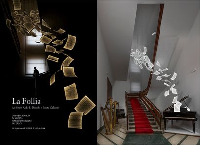 La Follia - A Art Design Artwork by LiBianchiGalvanoArchitetti
